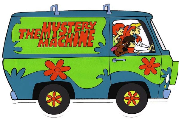 scooby doo mystery machine van coloring page  Cartoon